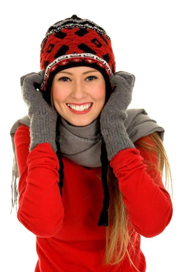 dziewczyny ubraniowa zima zdjęcie royalty free