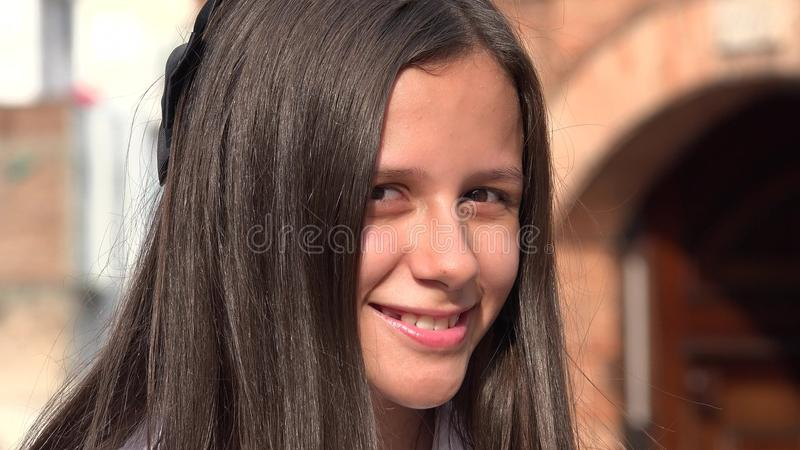 dziewczyny włosy długi ja target1816_0_ nastoletni obrazy stock