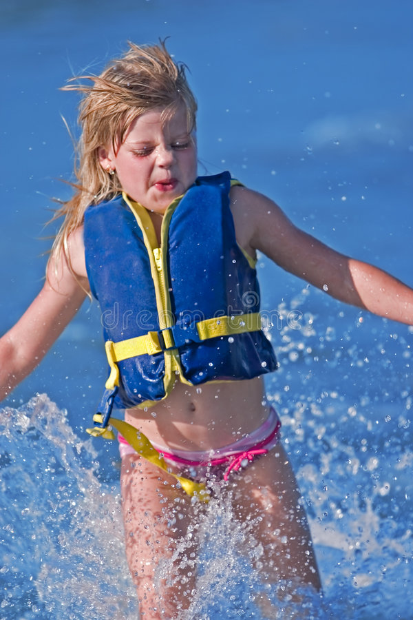 dziewczyny wody zdjęcia stock