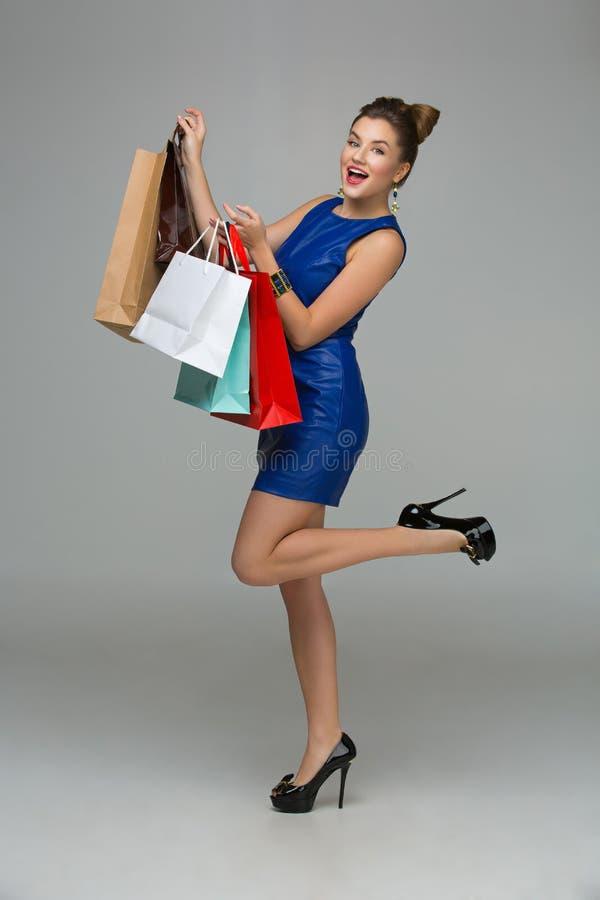 dziewczyny z sally zakupy fotografia royalty free