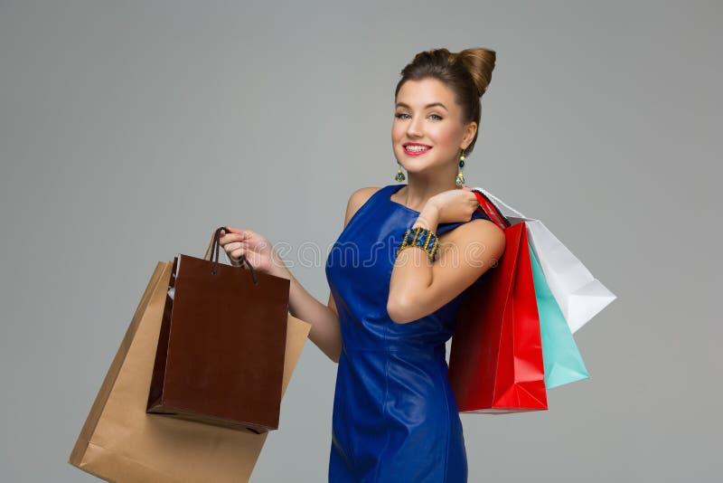 dziewczyny z sally zakupy zdjęcie stock
