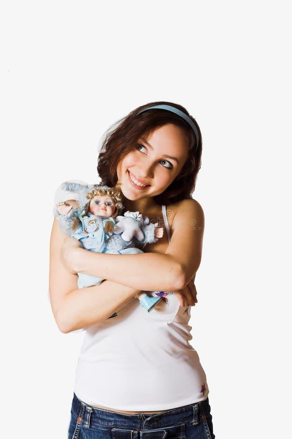 dziewczyny zabawka zdjęcia stock