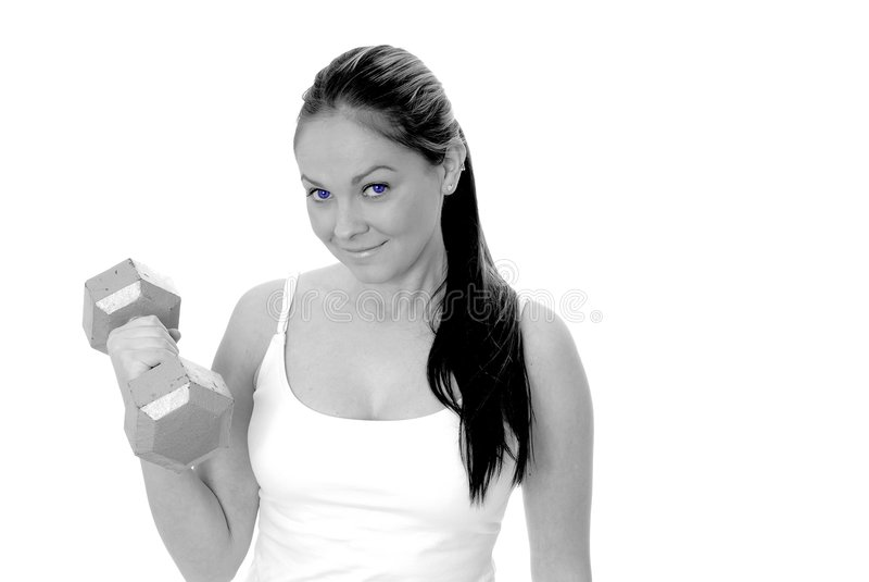 dziewczyny zdrowia fizycznego fitness zdjęcia stock