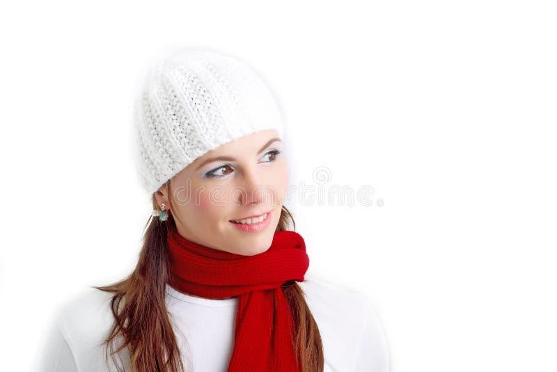 dziewczyny zima zdjęcia royalty free