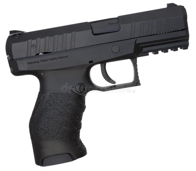 Dziewięć milimetrów pistolecik zdjęcia royalty free