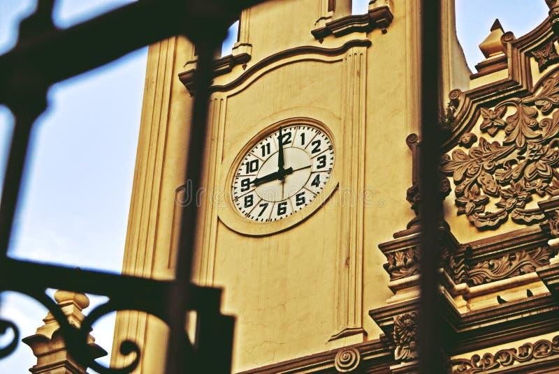 Dziewięć oÂ'clock obraz stock