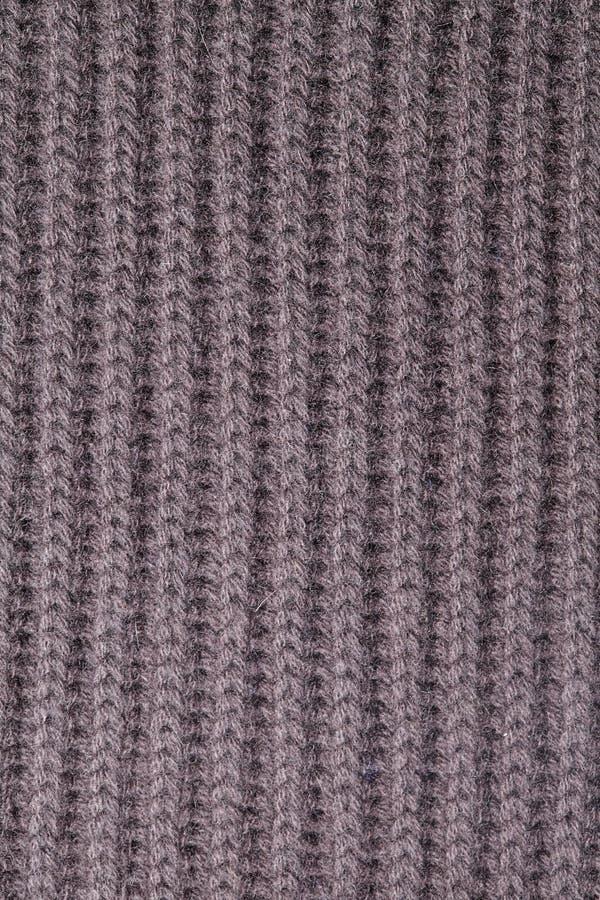 Dziewiarski wełny tekstury tło zdjęcie stock