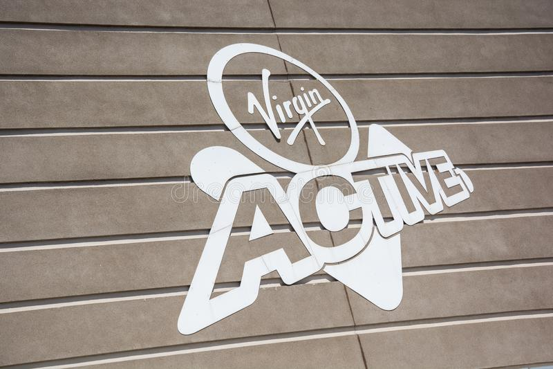 Dziewiczy Aktywny gym w Roodepoort, Johannesburg obraz stock