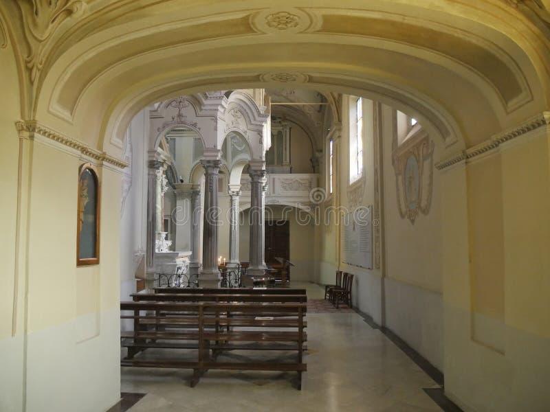 Dziewiczy sanktuarium w Bobbio obrazy royalty free