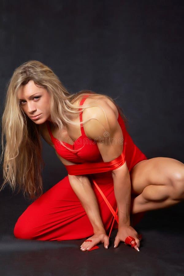 dzika kobieta fotografia stock