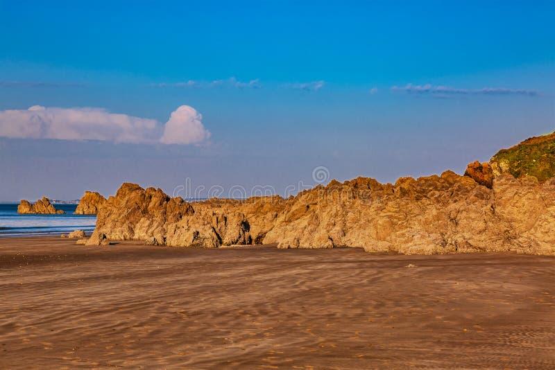 Dzika plaża obrazy royalty free