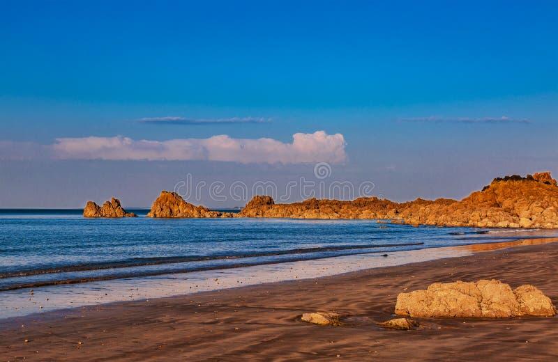Dzika plaża zdjęcie stock
