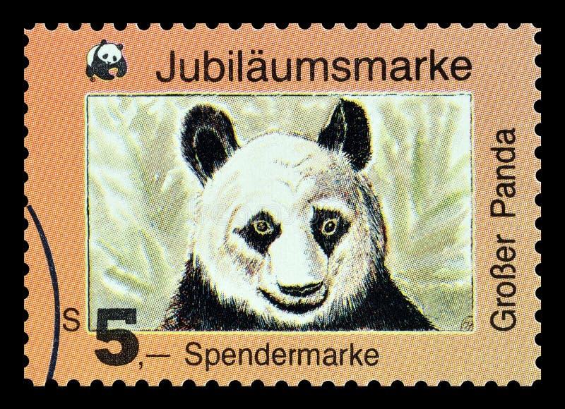 Dziki życie na znaczkach pocztowych obraz royalty free