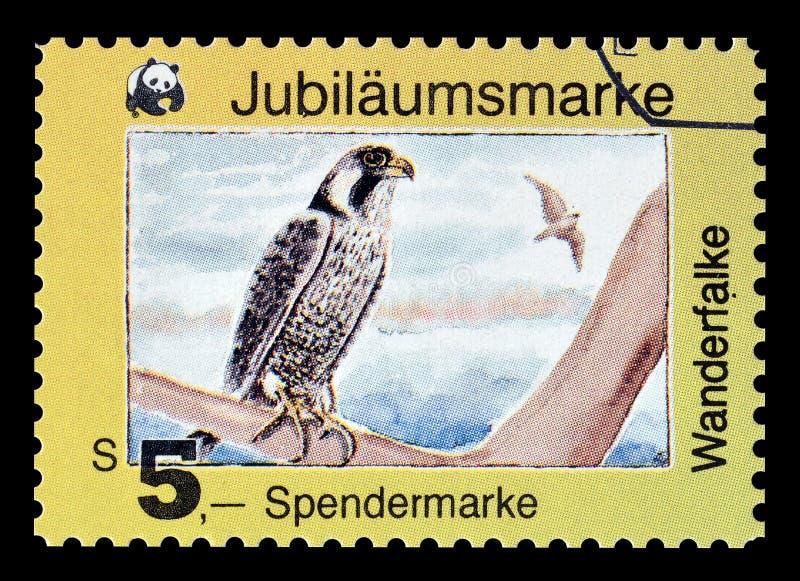 Dziki życie na znaczkach pocztowych fotografia stock