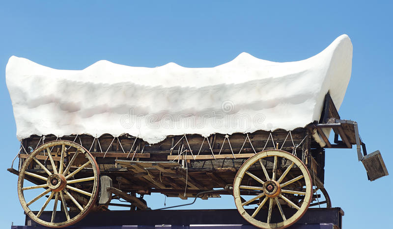 dziki furgon na zachód obrazy royalty free