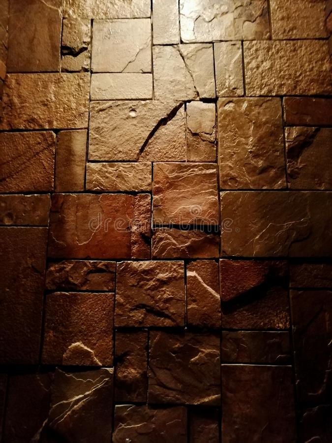 Dziki kamienny kamieniarstwo lacquered zdjęcia royalty free