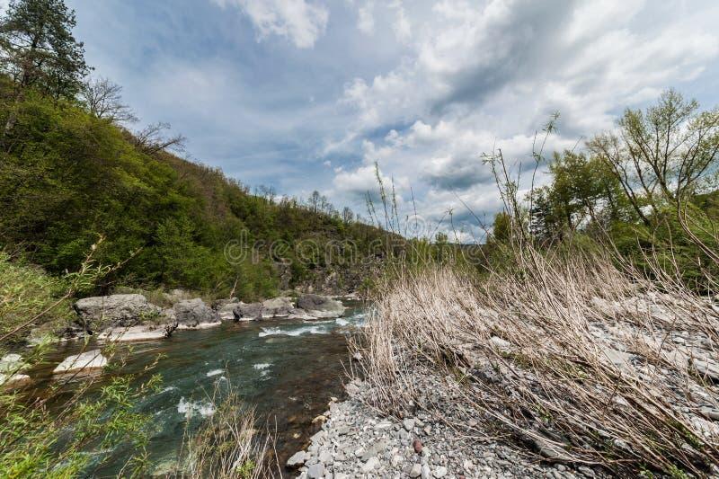 Dziki krajobraz zdjęcia stock