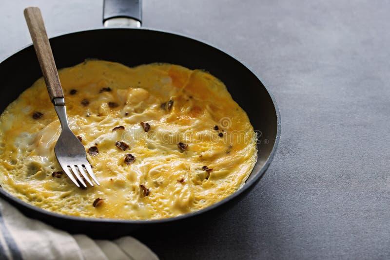 Dziki Truflowy Omelette fotografia stock