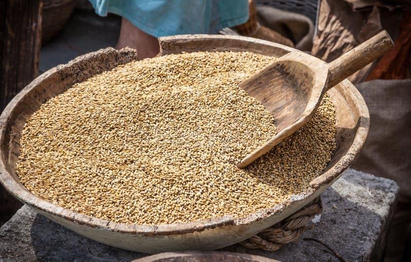 Dzikich ryż kiszka obraz royalty free