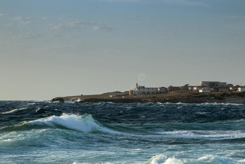 Dzikie morze fala obrazy royalty free