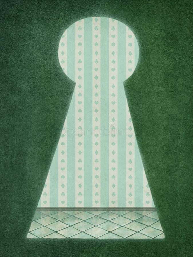 dziurkę royalty ilustracja