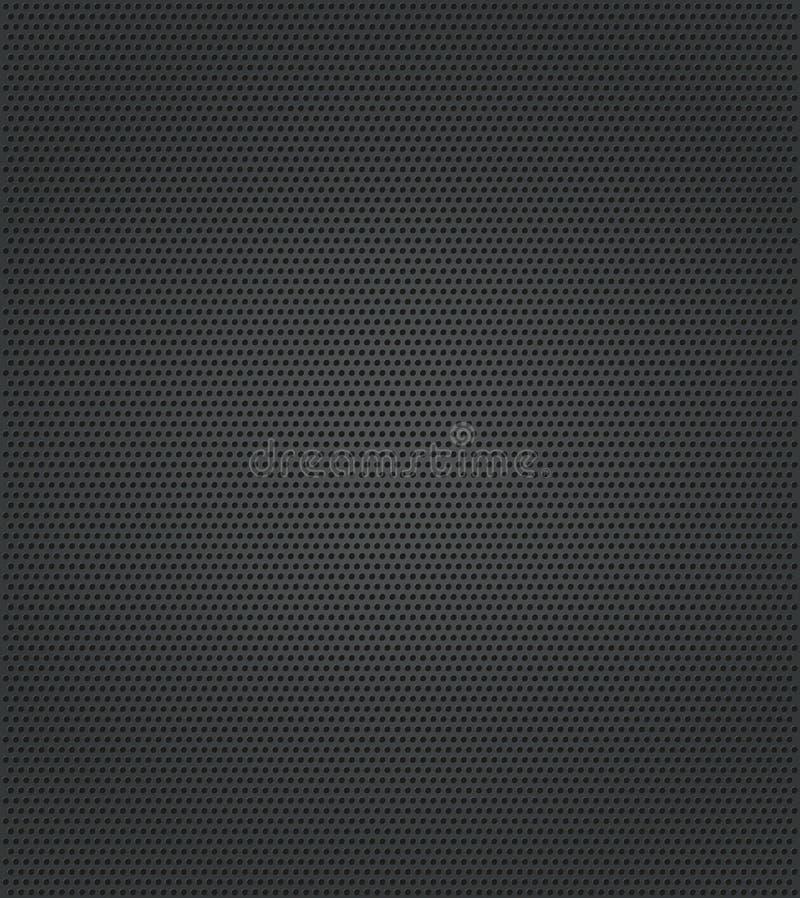 dziury metalu tekstura ilustracji