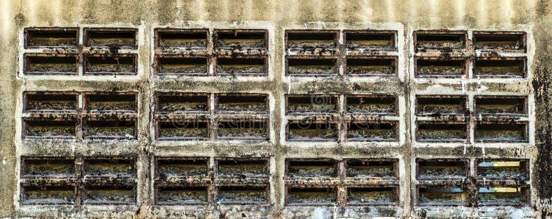 Dziury powietrza ściana obrazy stock