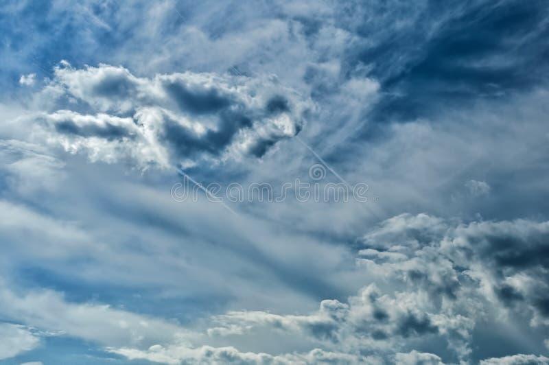 dziwne niebo obrazy royalty free