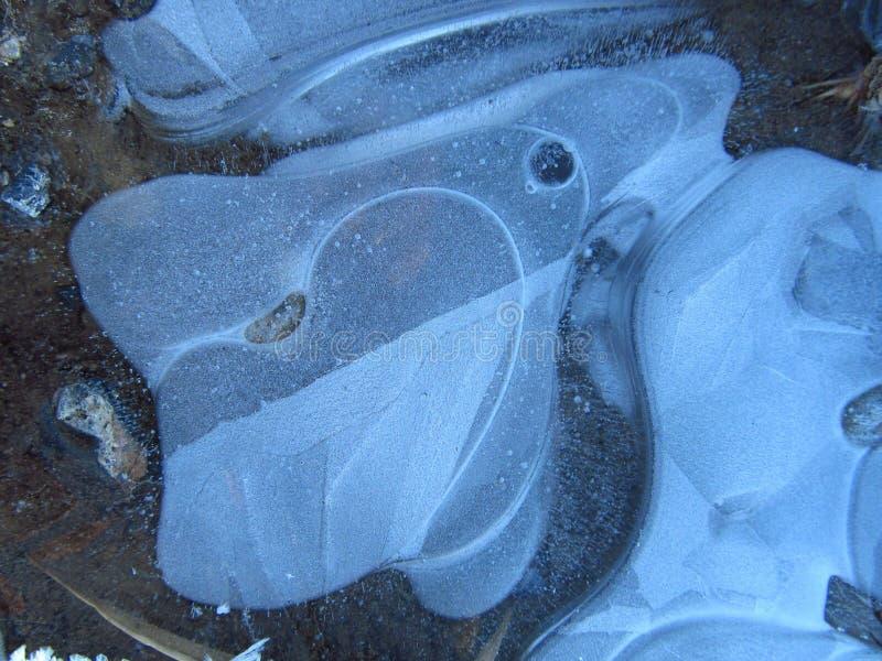 Dziwny lód jest obrazy royalty free