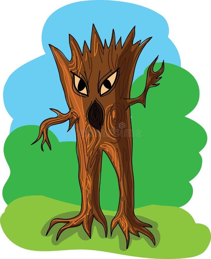 dziwożony drewno zdjęcie stock