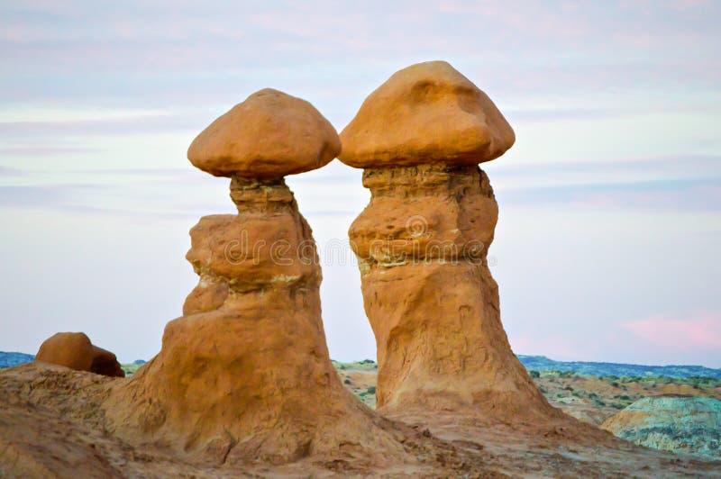 dziwożony parkowa stan Utah dolina obraz stock