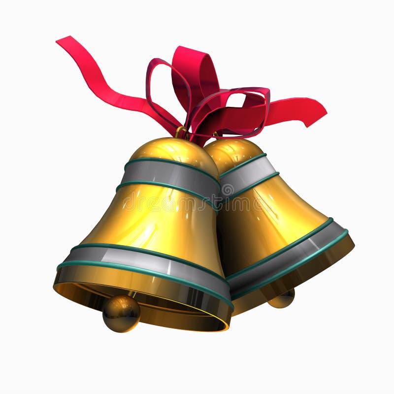 dzwonów boże narodzenia ilustracji