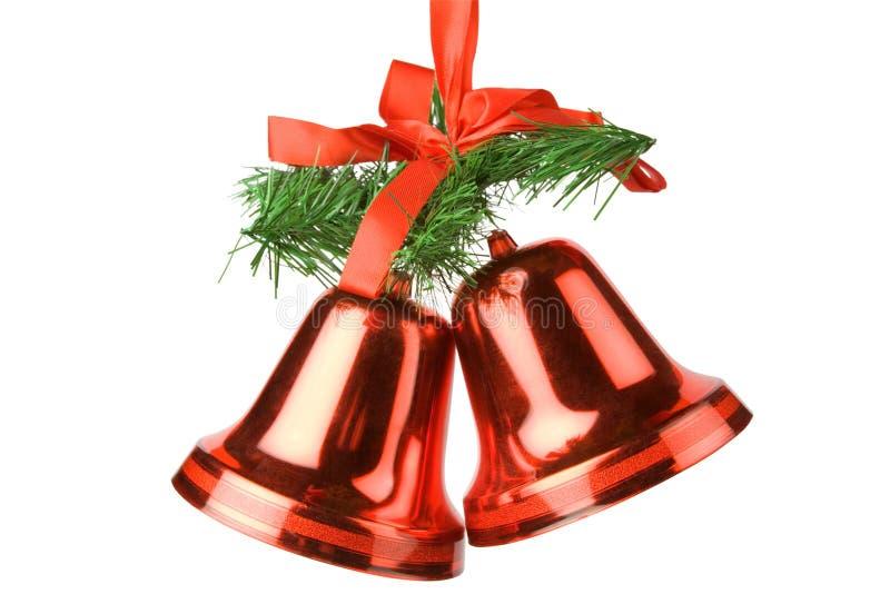 dzwonów bożych narodzeń dekoracja zdjęcie stock