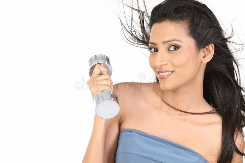 dzwonów niemy dziewczyny hindus zdjęcia royalty free