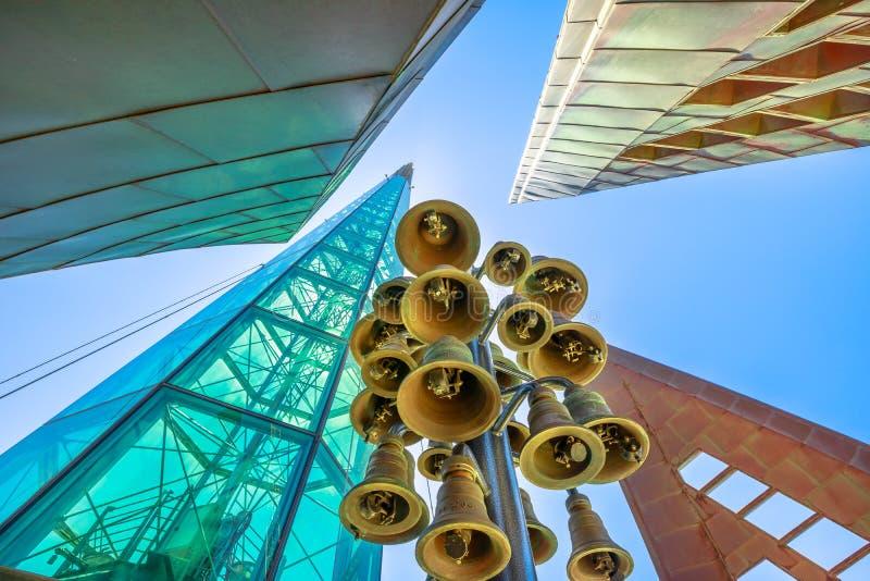 Dzwonów wierza architektura Perth zdjęcie royalty free