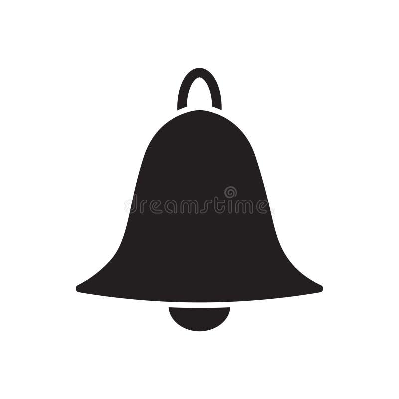 Dzwon alarmowy ikona royalty ilustracja
