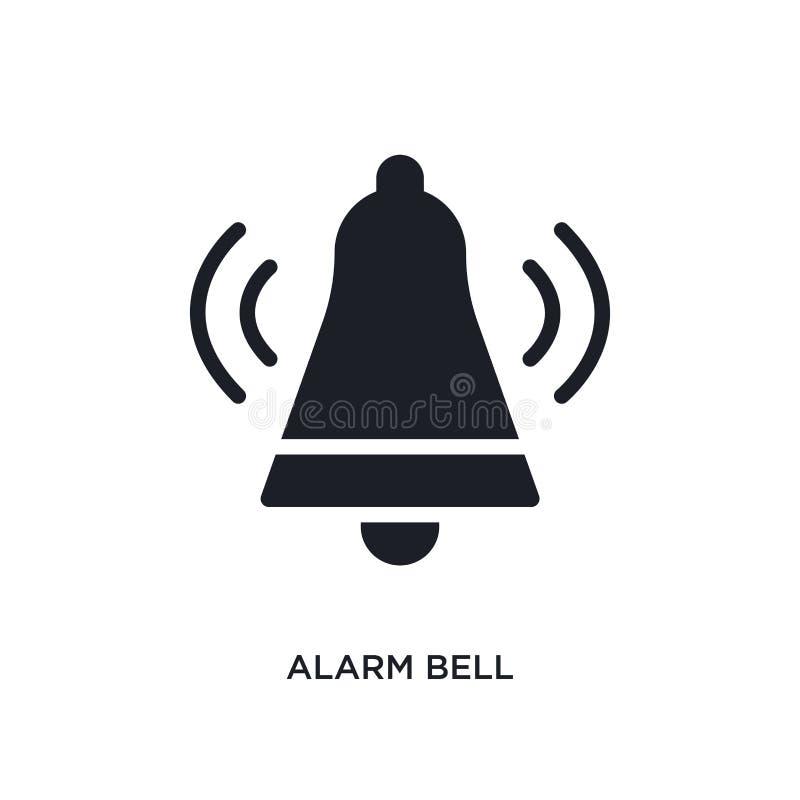 dzwon alarmowy odosobniona ikona prosta element ilustracja od ostatecznych glyphicons pojęcia ikon dzwonu alarmowego logo znaka e ilustracji