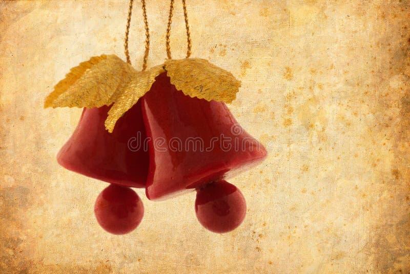 Dzwon bożenarodzeniowa dekoracja zdjęcia royalty free