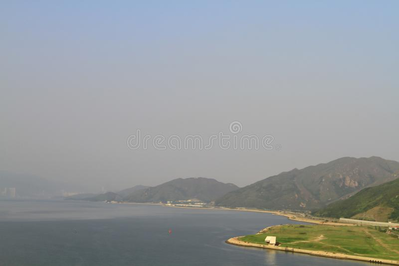Dzwoniący Chung, Hong Kong przy 2010 słońce setem zdjęcie royalty free