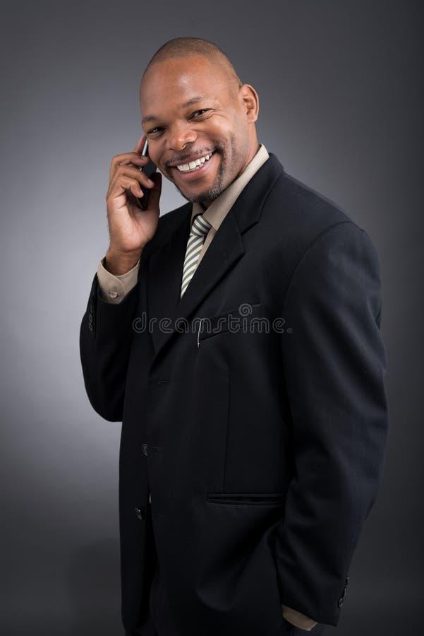 Dzwonić na telefonie obraz stock