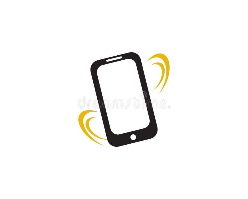 dzwonienia smartphone ilustracji