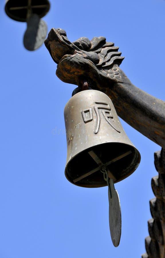 dzwonkowa buddyjska świątynia obrazy stock