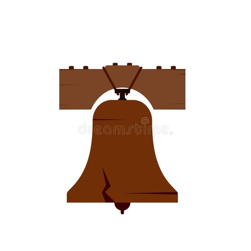 Dzwonkowa swobody ikona royalty ilustracja