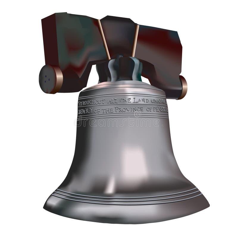 dzwonkowa wolności. ilustracja wektor