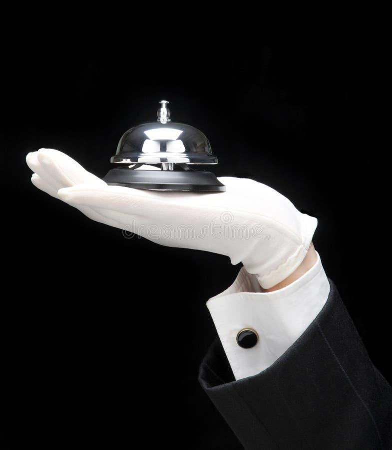 dzwonkowy bulter wezwanie obraz stock