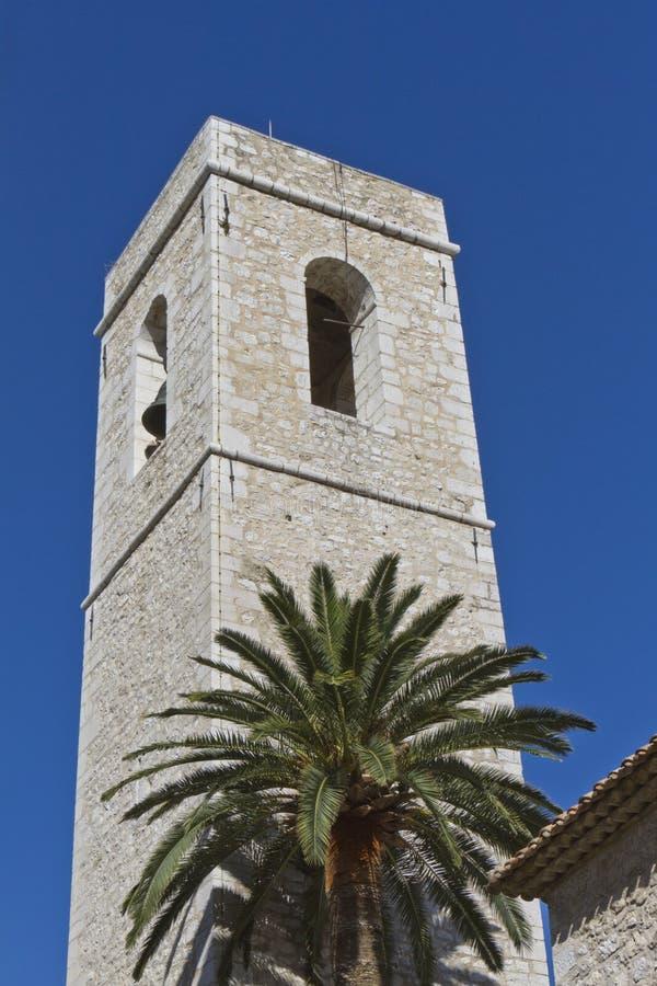 dzwonkowy katedralny palmy wierza drzewo zdjęcia stock