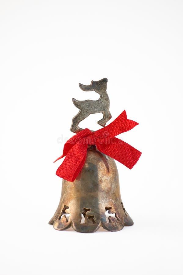 dzwonkowy renifer zdjęcie stock