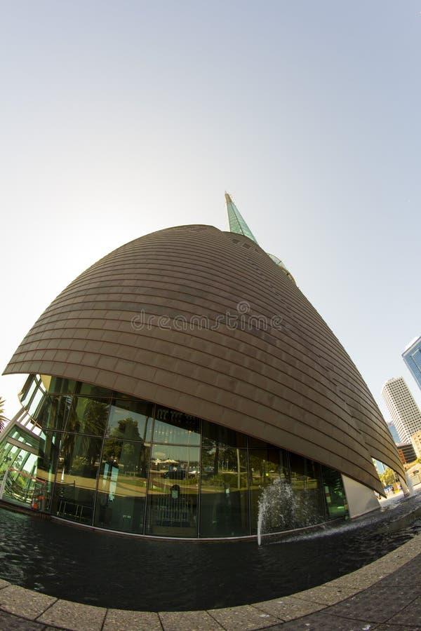 Dzwonkowy wierza dom Łabędzi Dzwonu punktu zwrotnego Perth lAustralia zdjęcie stock