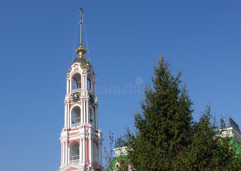 Dzwonkowy wierza Kazan Monasteryin obrazy royalty free