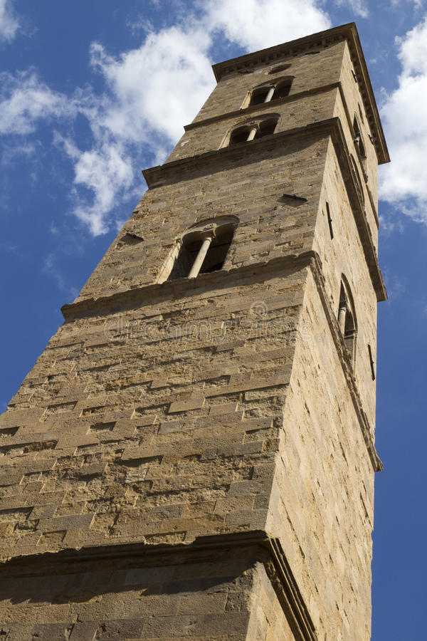 Download Dzwonkowy Wierza Volterra Katedra, Tuscany, Włochy Zdjęcie Stock - Obraz złożonej z architektury, historyczny: 57654180